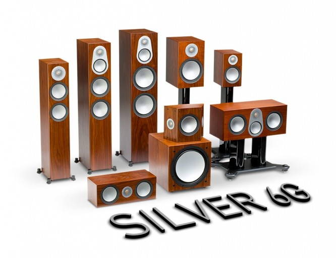 Nouvelle gamme Silver 6G chez Monitor Audio